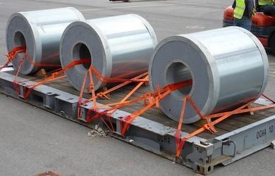amarração de cargas em carretas