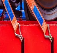 cintas de poliéster para elevação e amarração de cargas