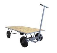 carrinho de carga dobrável com haste regulável
