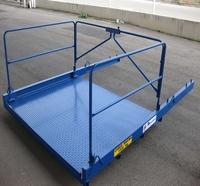 Reparo de carrinho para carga e descarga
