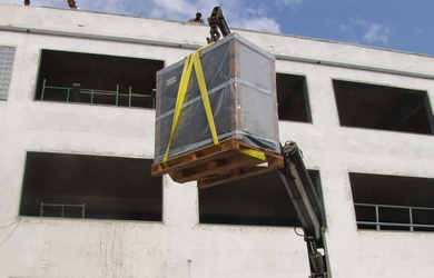 Fornecedores de cintas para elevação de cargas