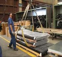 Fabricação de cabos para elevação de cargas