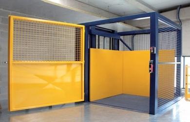 Manutenção de elevador de passageiros e carga