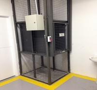 Projeto elevador de carga