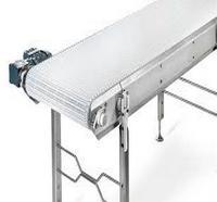 Transportador de esteiras de módulo curvo