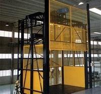Fabricante de elevadores monta carga hidráulico