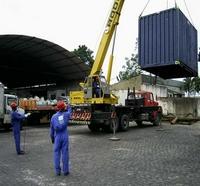 Esteira para movimentação de carga