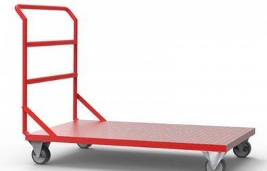 Carrinho para carga tipo plataforma