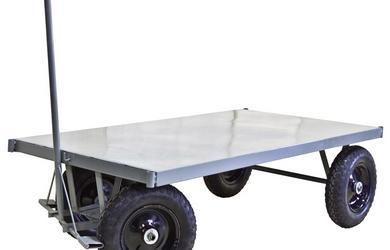 Carrinho de carga com plataforma de aço comprar