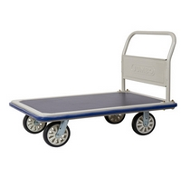Carrinho plataforma com 4 rodas