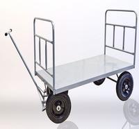 Empresa de carrinho de carga com plataforma de aço