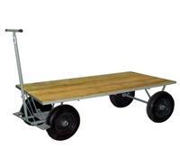 Carrinho carga plataforma