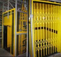Elevador hidráulico carga