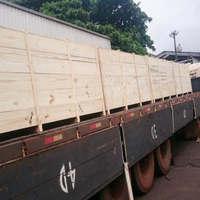 Embalagem de madeira para transporte