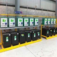 Gestão de salas de carga de baterias