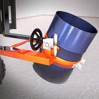 Dispositivo p/ transporte e giro de tambor p/ empilhadeira