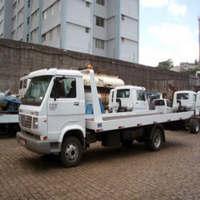 Guincho rebocador compacto hidráulico para transporte de carros