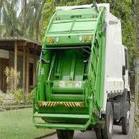 Coletores de carga traseira para lixo