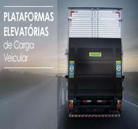 Plataforma elevatória de carga veicular