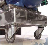 Rodízios para carrinhos de carga