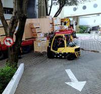 Serviço de movimentação de cargas