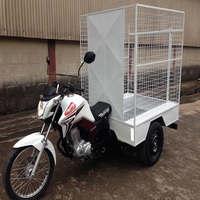 Triciclo de Carga para Coleta de lixo