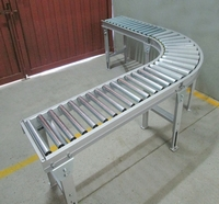Mesa transportadora com roletes livres comprar