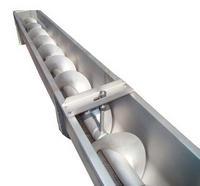 Rosca transportadora de concreto
