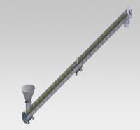 Rosca transportadora de cimento